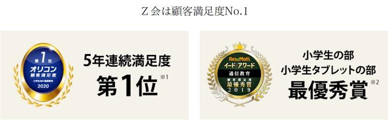 Z会小学生(顧客満足度)