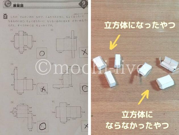 図形の極み|立方体になる展開図を求める問題