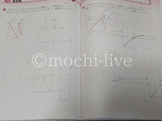 図形の極み7級展開図|対角線