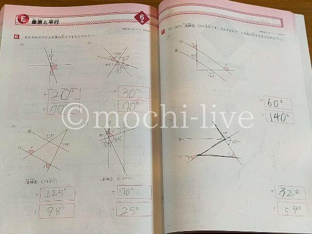図形の極み6級垂直と平行|角度